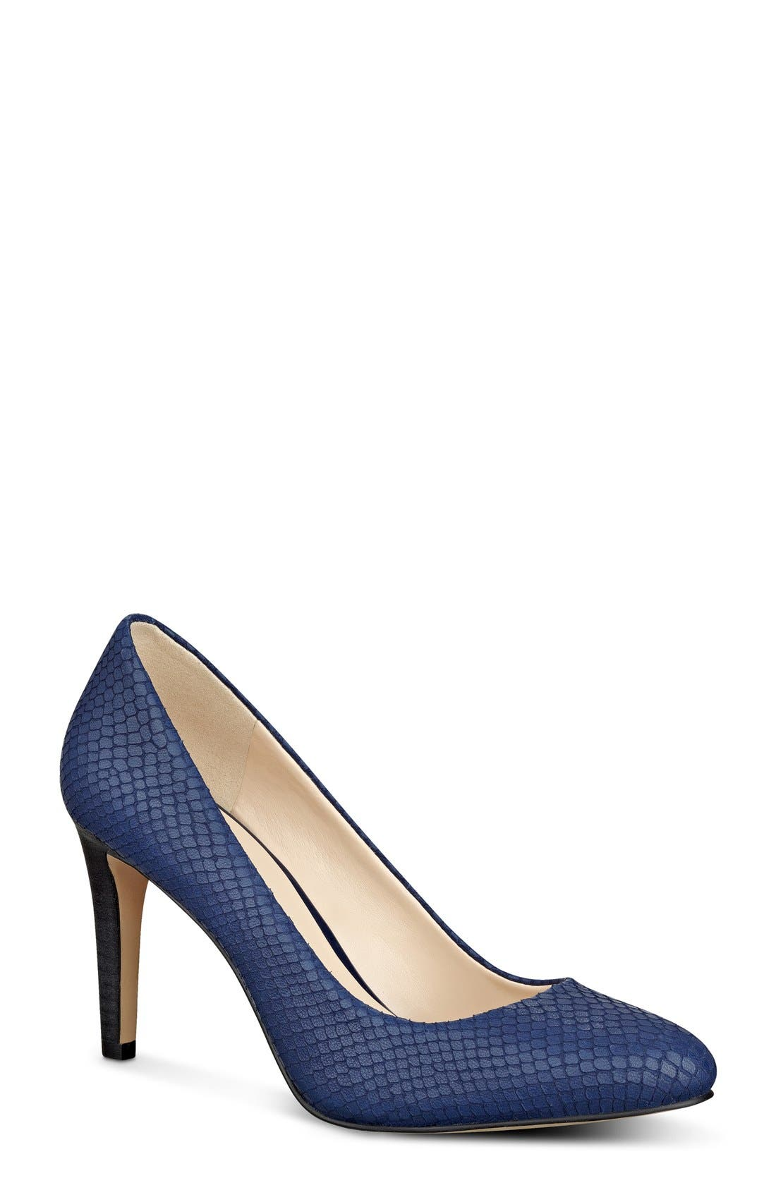 Alternate Image 1 Selected - Nine West 'Handjive' Almond Toe Pump (Women)