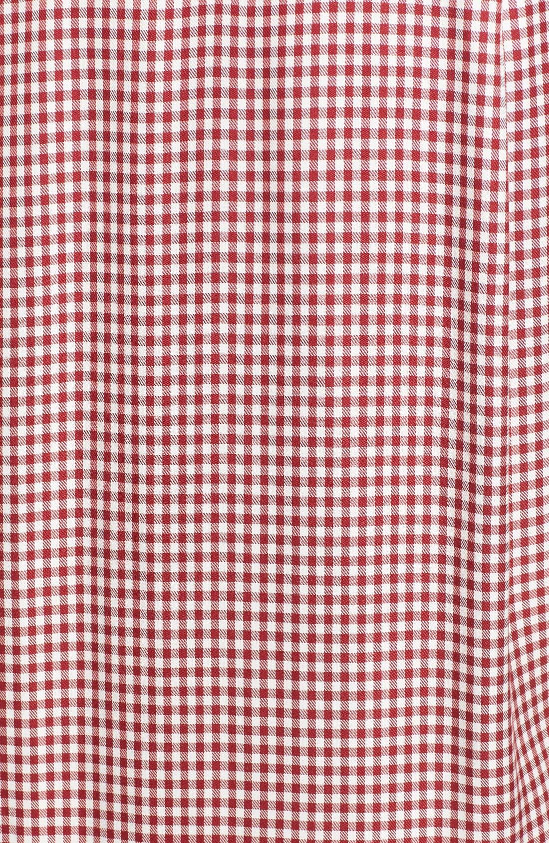 Alternate Image 5  - Madewell 'Filmscore' Gingham Check Shirt-Sleeve Dress