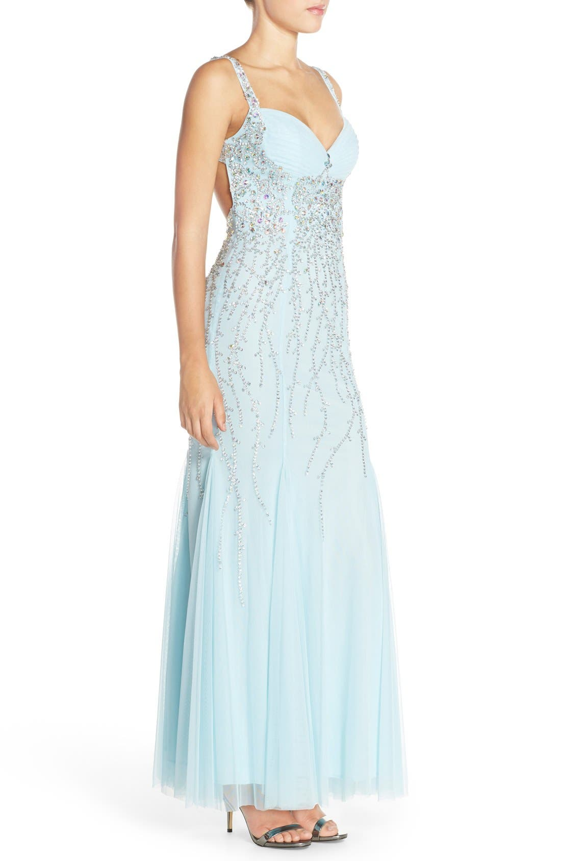 Alternate Image 3  - Sean Collection Embellished Gown