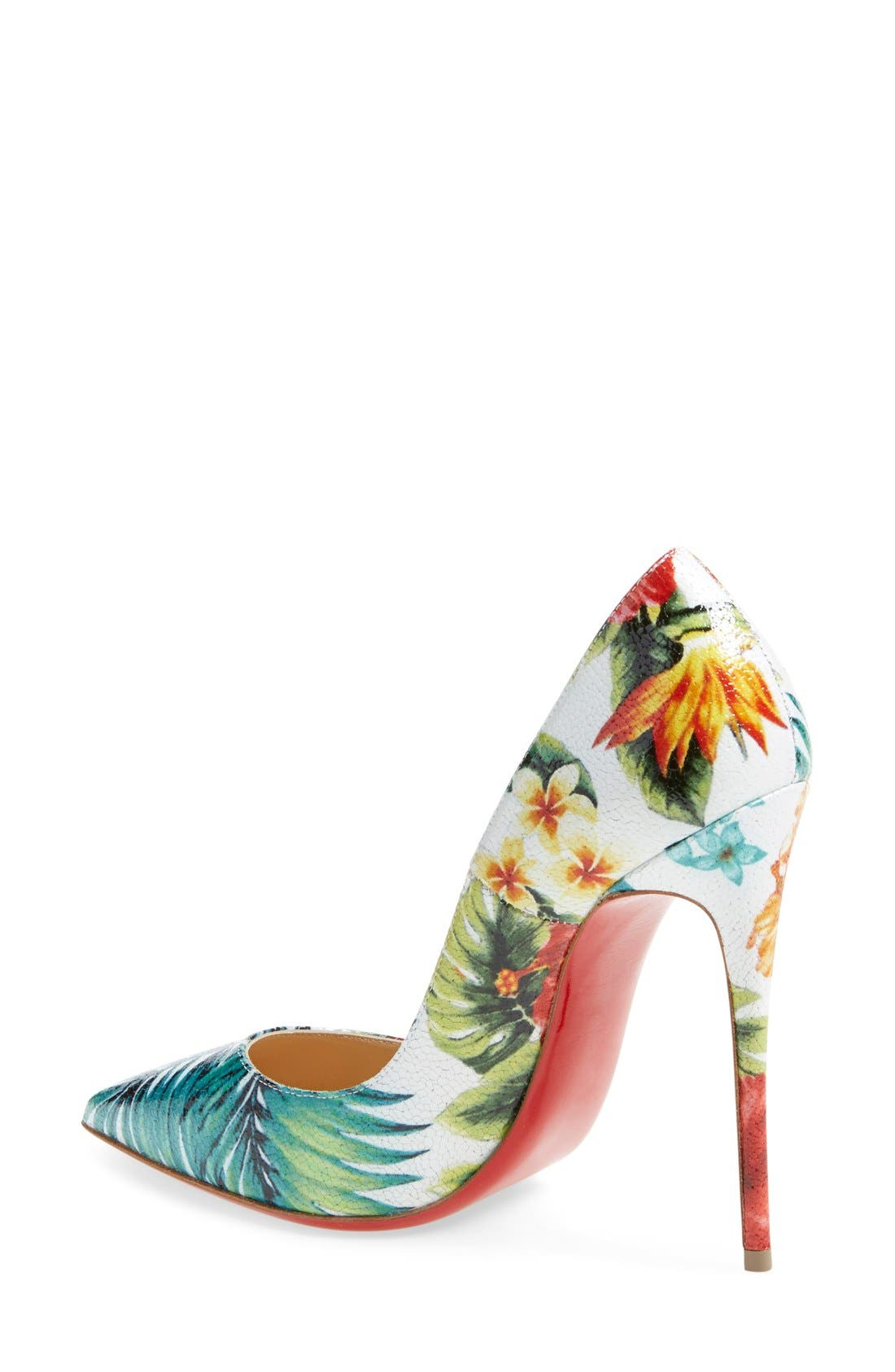 Alternate Image 2  - Christian Louboutin 'So Kate - Hawaii' Print Pointy Toe Pump (Women)