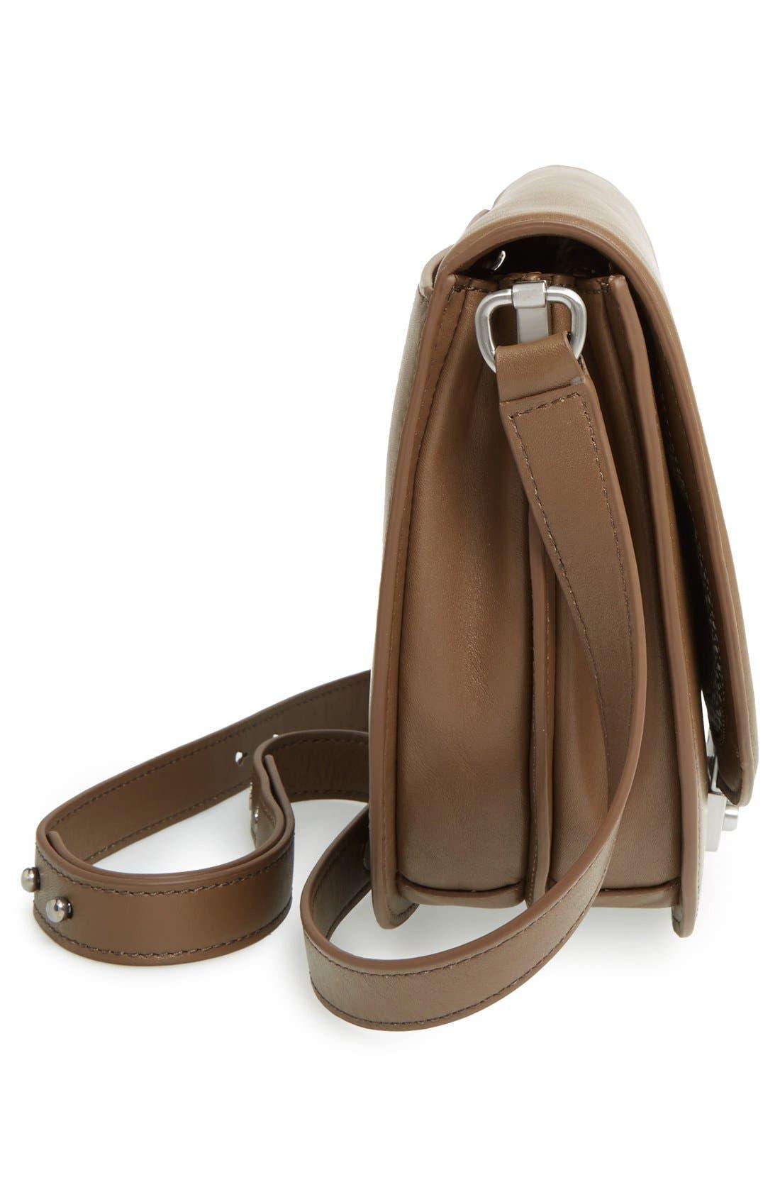 Alternate Image 5  - Loeffler Randall 'Large' Leather Saddle Bag