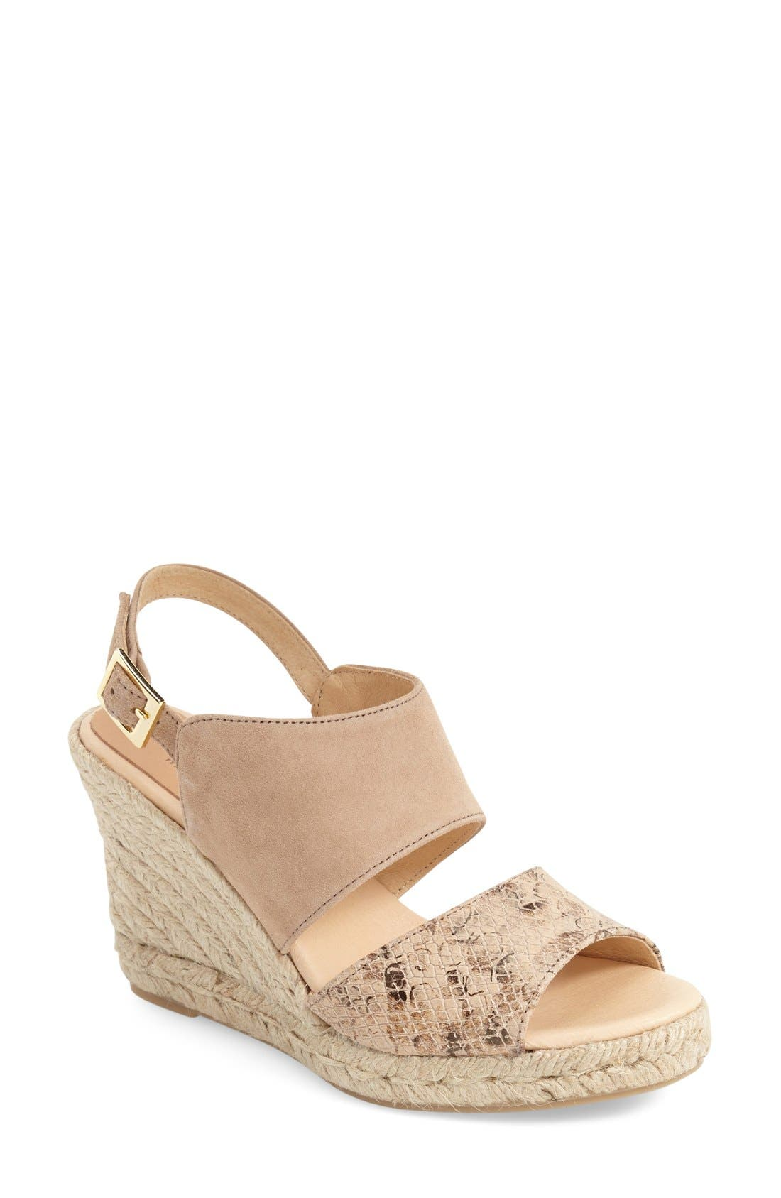 Alternate Image 1 Selected - patricia green 'Elise' Wedge Sandal (Women)