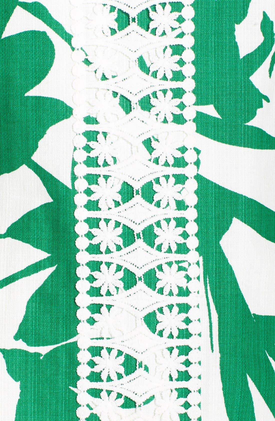 Alternate Image 6  - Eliza J Print Woven Shift Dress