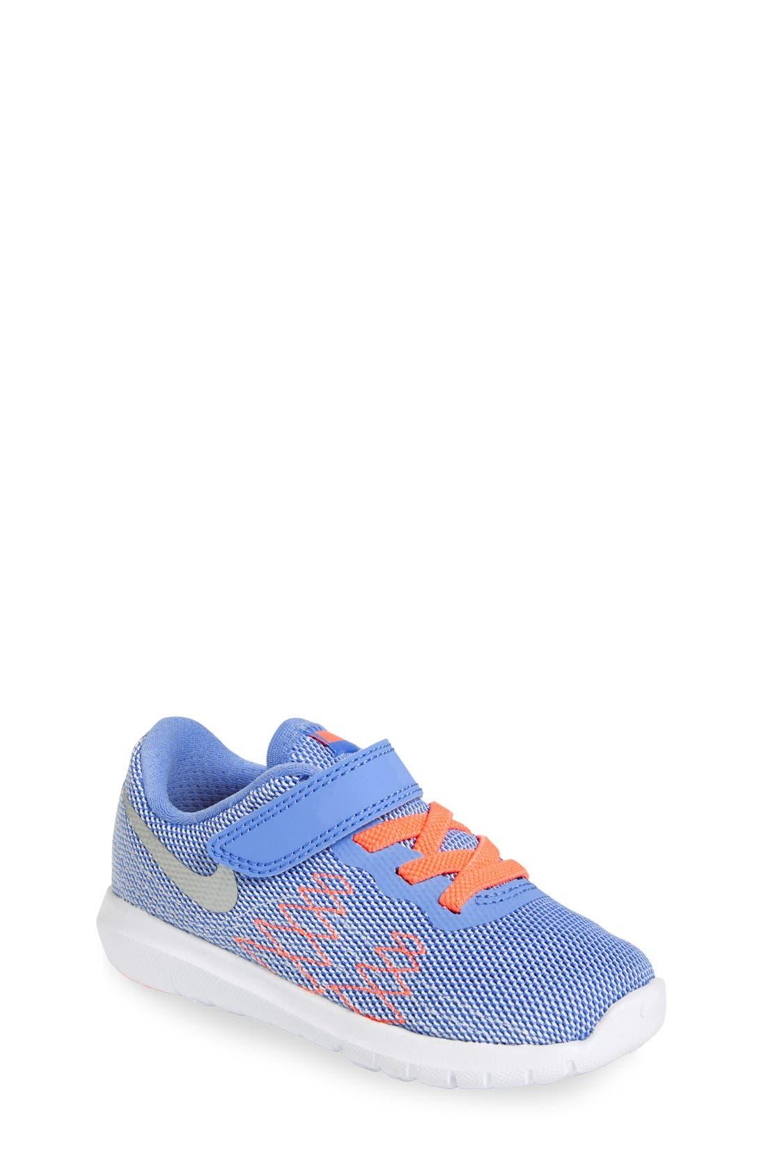 Nike Flex Fury 2 Athletic Shoe (Baby, Walker & Toddler)