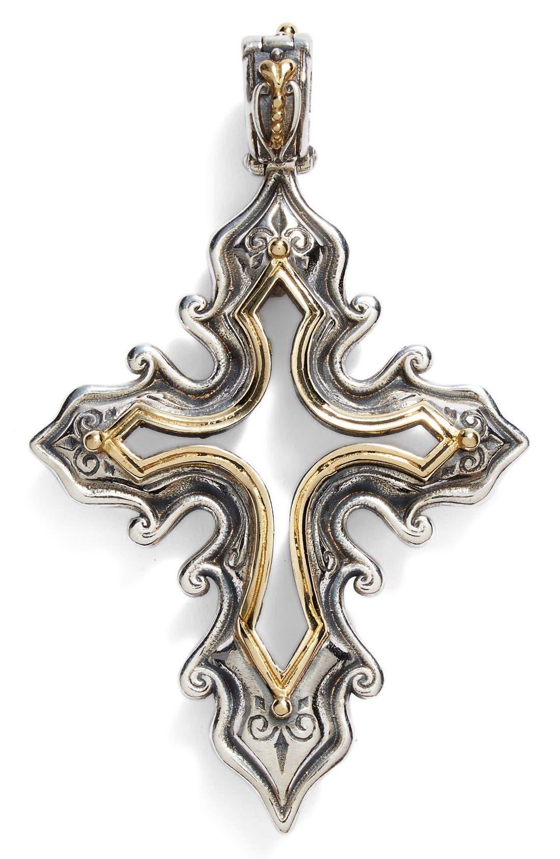 Main Image - Konstantino 'Hebe' Openwork Cross Pendant