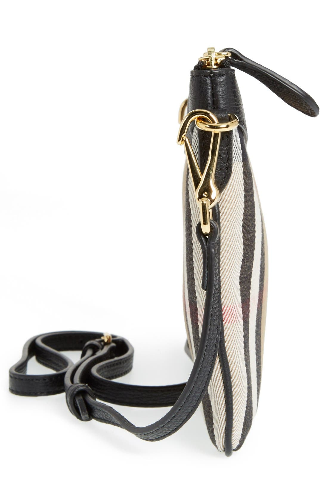 Alternate Image 4  - Burberry 'Peyton - House Check' Crossbody Bag