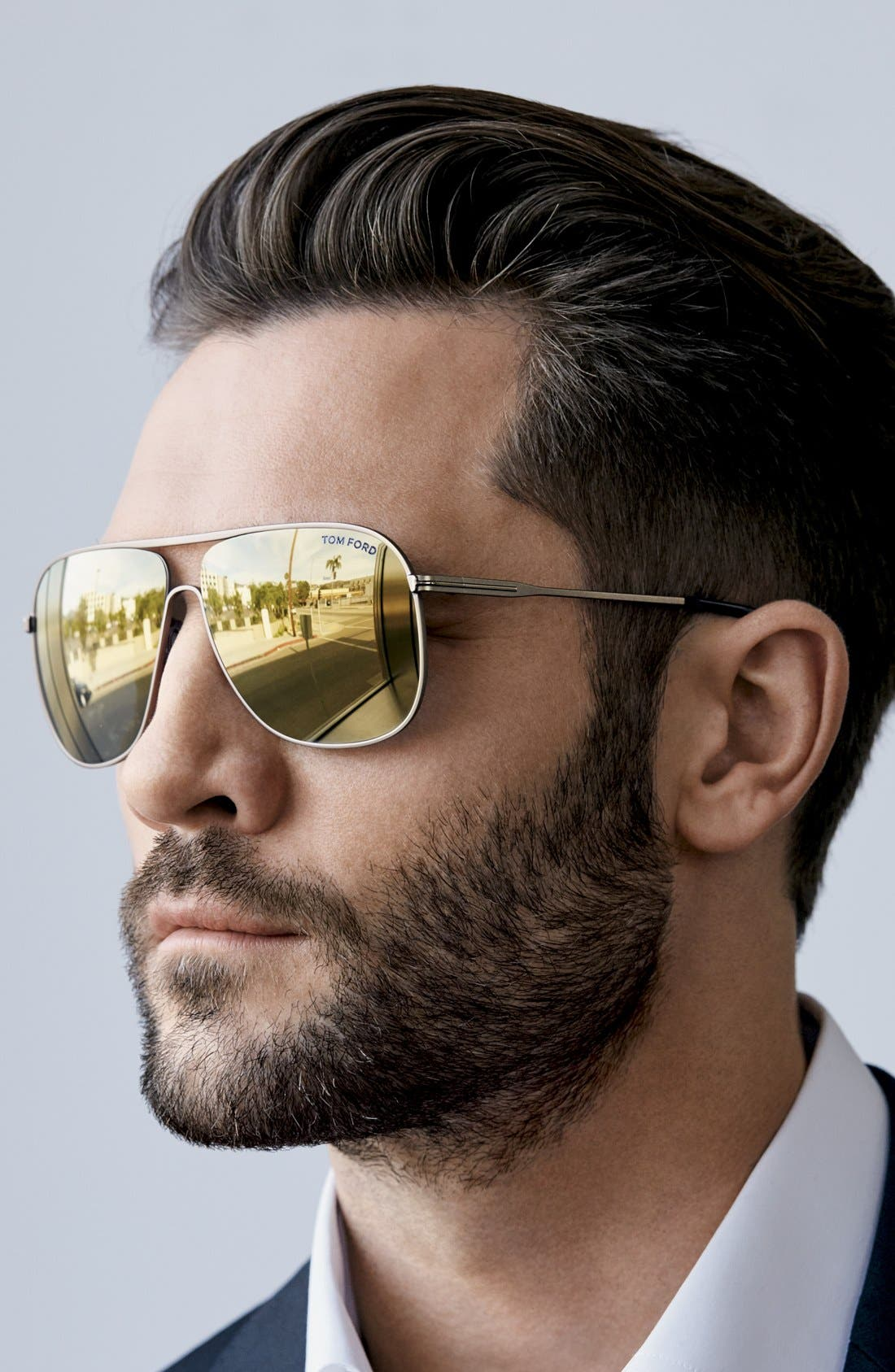 Alternate Image 3  - Tom Ford 60mm Aviator Sunglasses