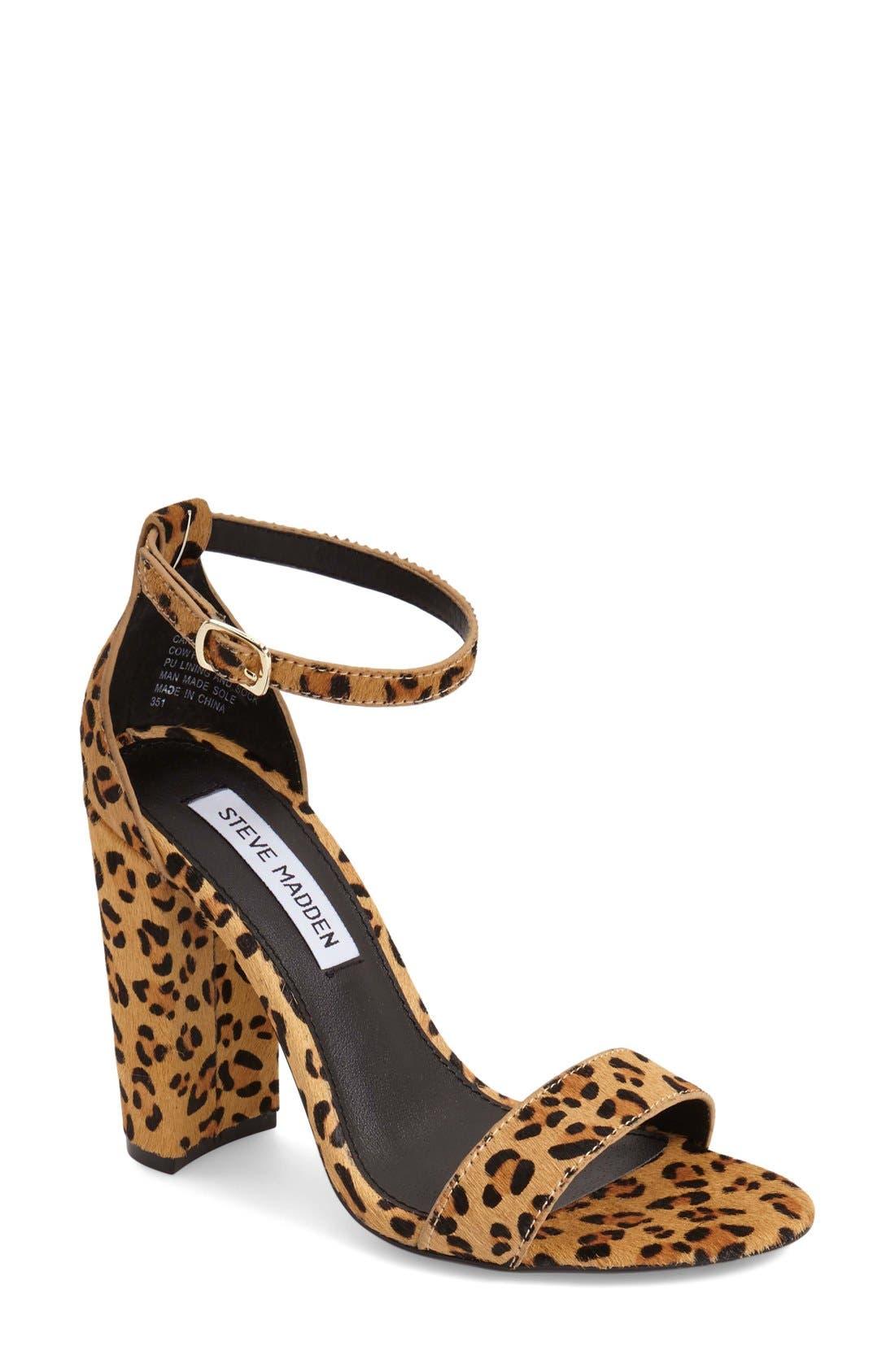 Alternate Image 1 Selected - Steve Madden 'Carrson' Sandal (Women)