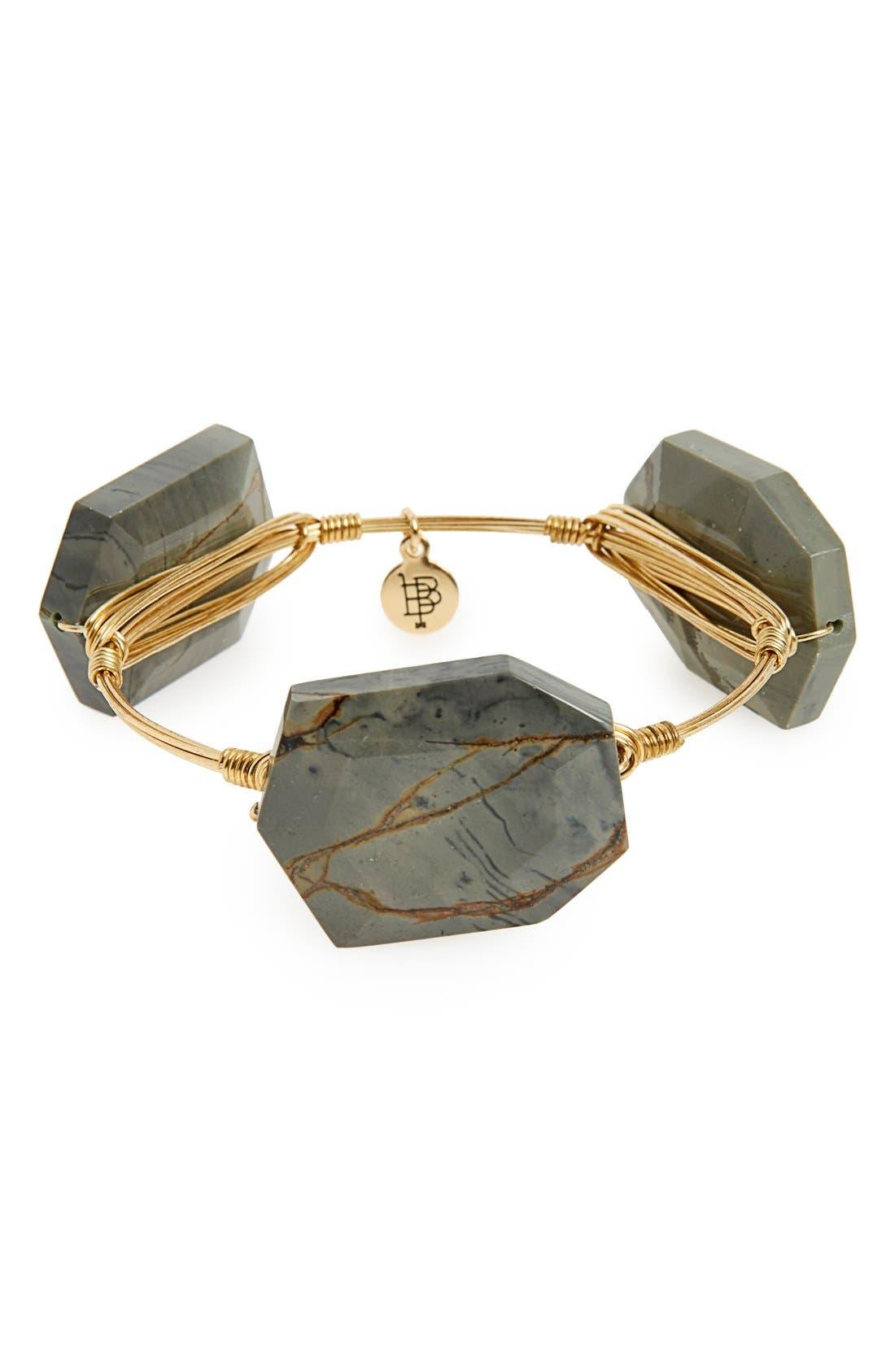 Main Image - Bourbon and Boweties Stone Bracelet