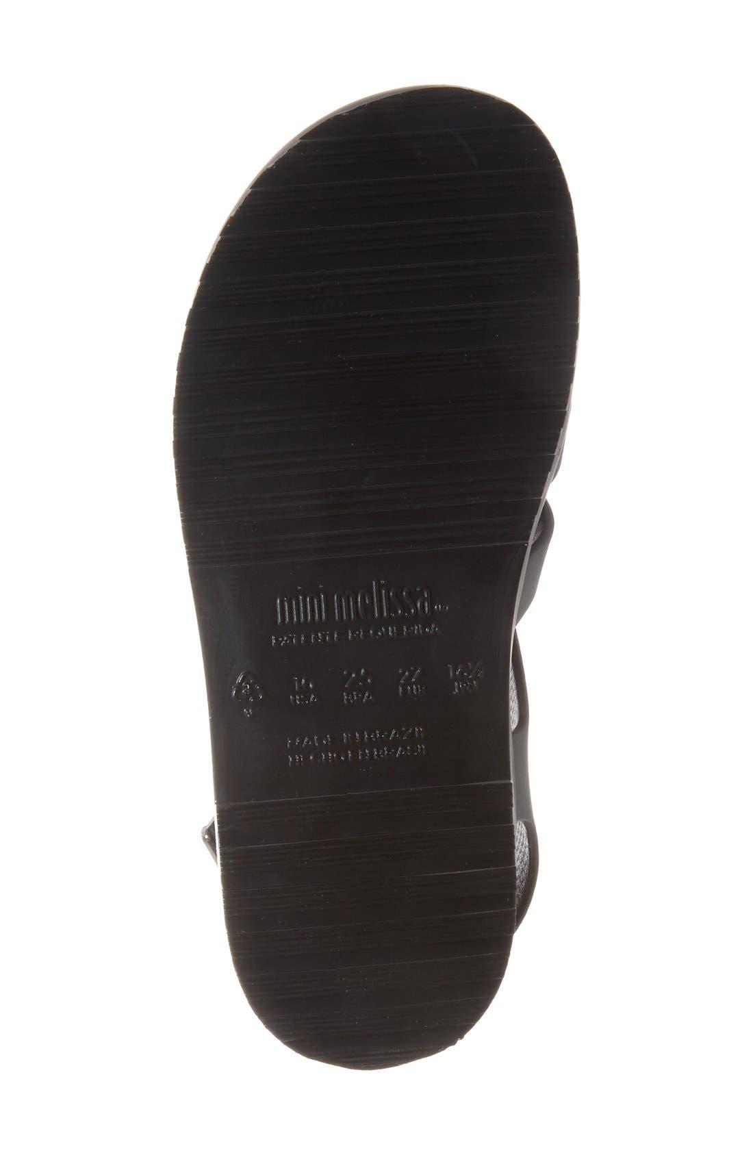 'Flox' Sandal,                             Alternate thumbnail 4, color,                             Black