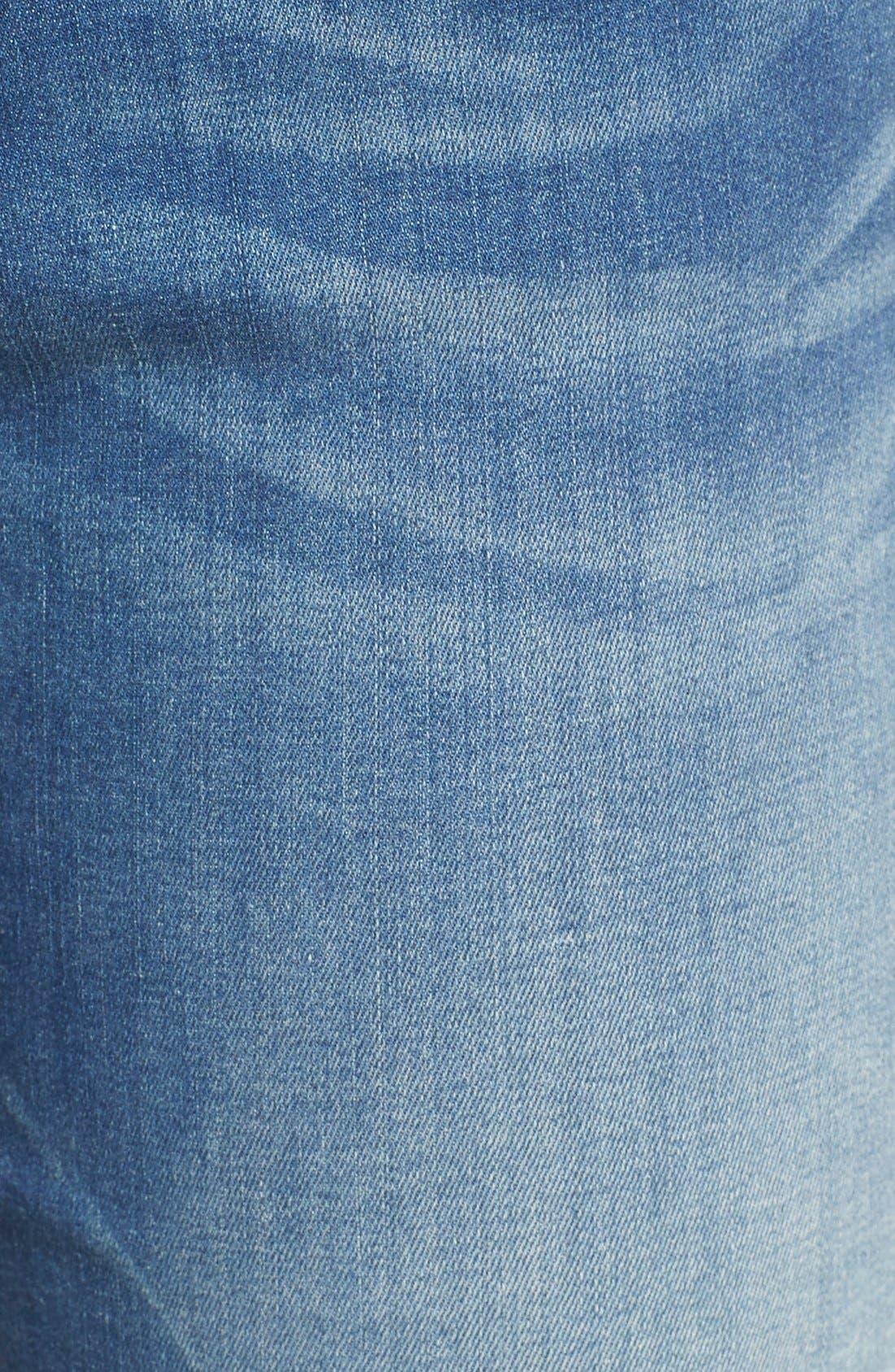 Alternate Image 5  - Vigoss Crop High Rise Jeans