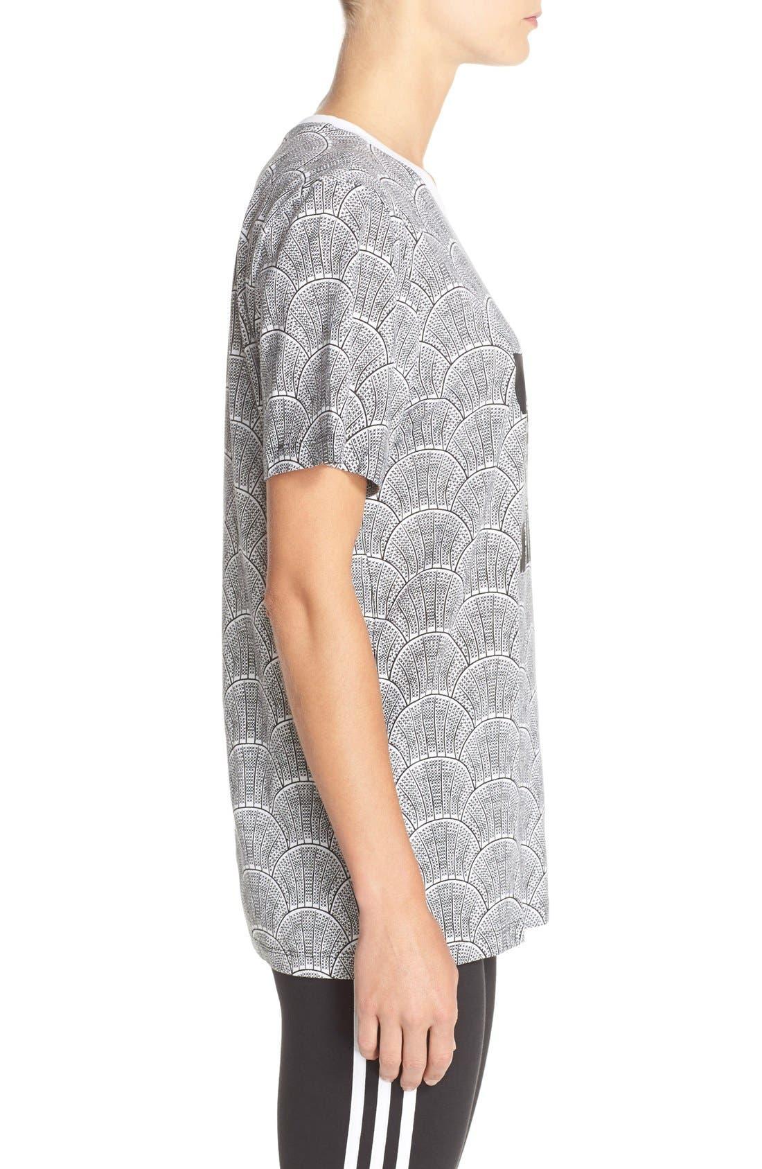 Alternate Image 3  - adidas Originals 'Shell Tile' Boyfriend Tee