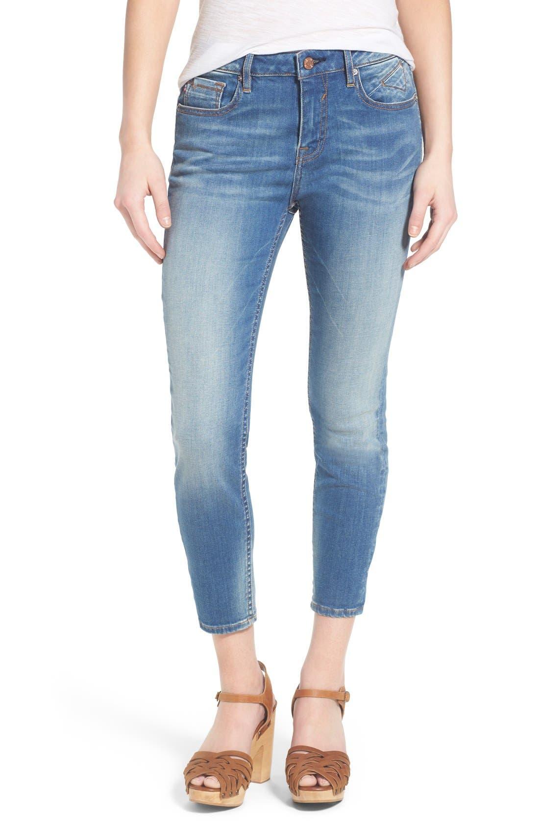 Alternate Image 1 Selected - Vigoss Crop High Rise Jeans