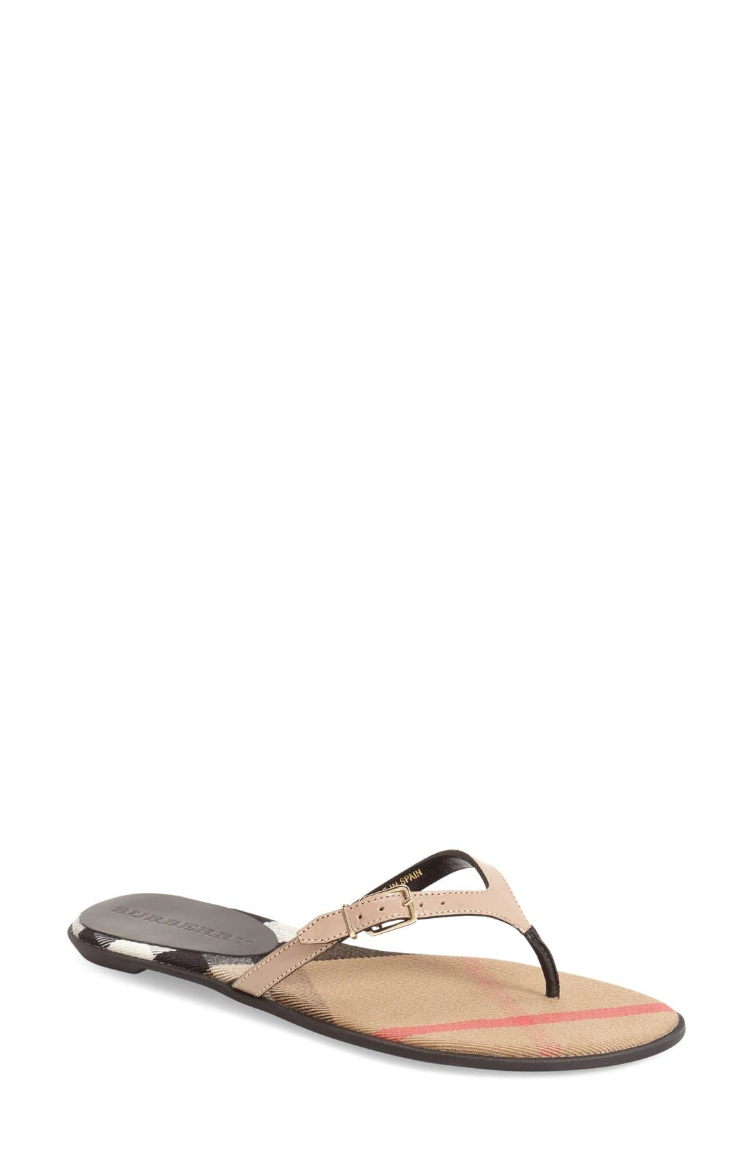 Alternate Image 1 Selected - Burberry 'Meadow' Sandal