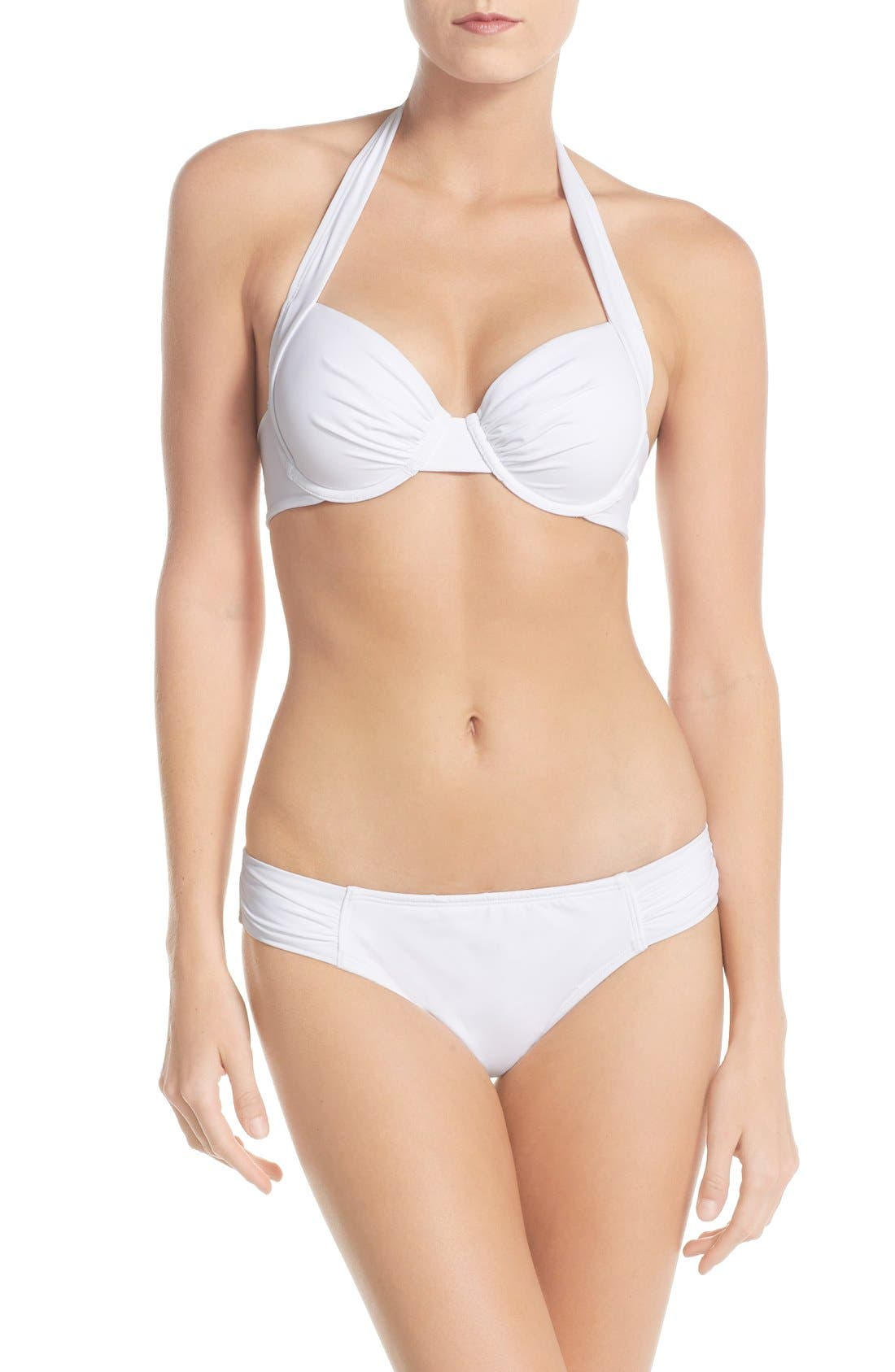 Alternate Image 3  - Tommy Bahama 'Pearl' Underwire Halter Bikini Top