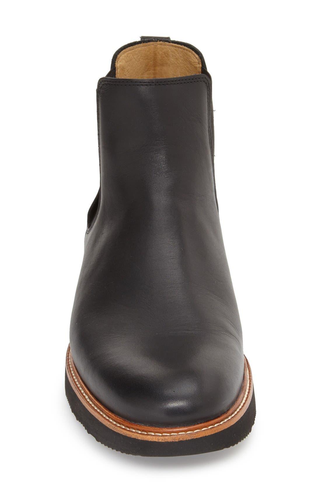 24 Seven Chelsea Boot,                             Alternate thumbnail 3, color,                             Black