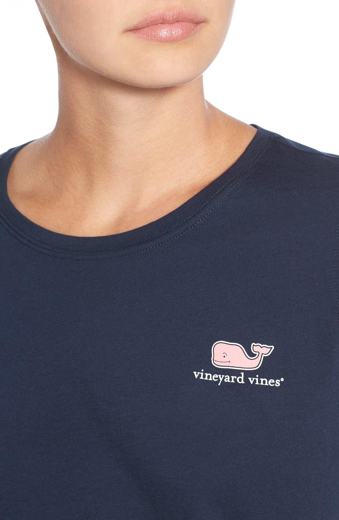 Alternate Image 4  - Vineyard Vines Long Sleeve Logo Tee