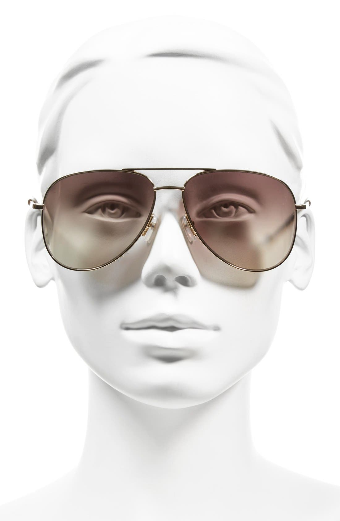 Alternate Image 2  - MARC JACOBS 59mm Aviator Sunglasses