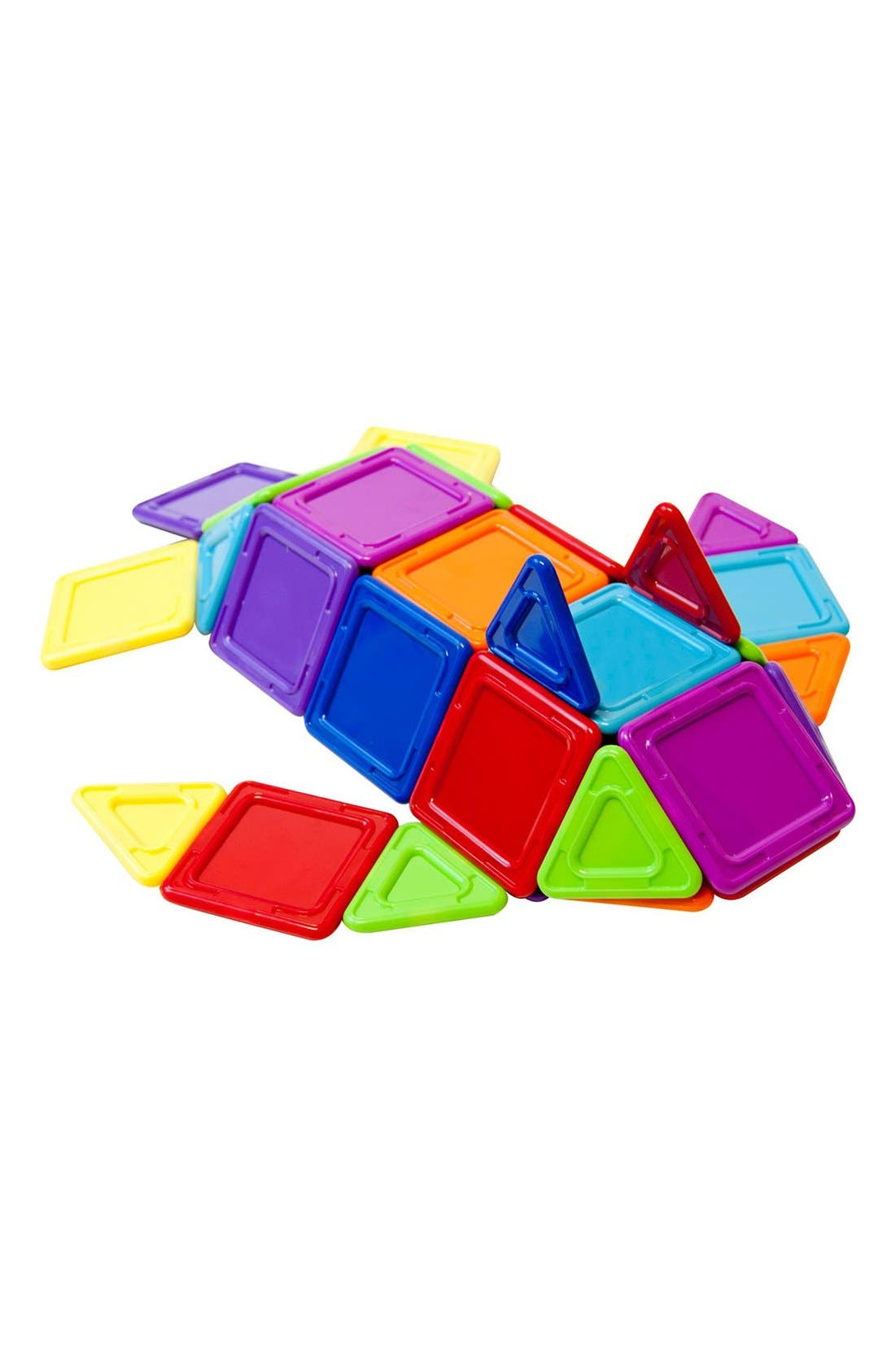 'Standard - Solids' Opaque Magnetic 3D Construction Set,                             Alternate thumbnail 4, color,                             Opaque Rainbow