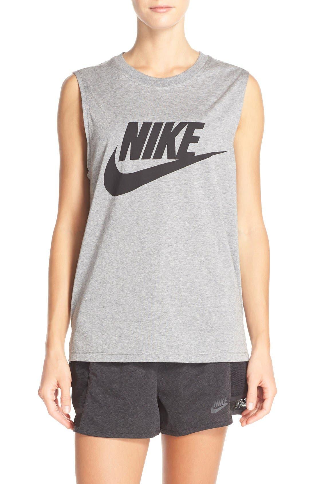 Alternate Image 1 Selected - Nike 'Signal' Muscle Tank