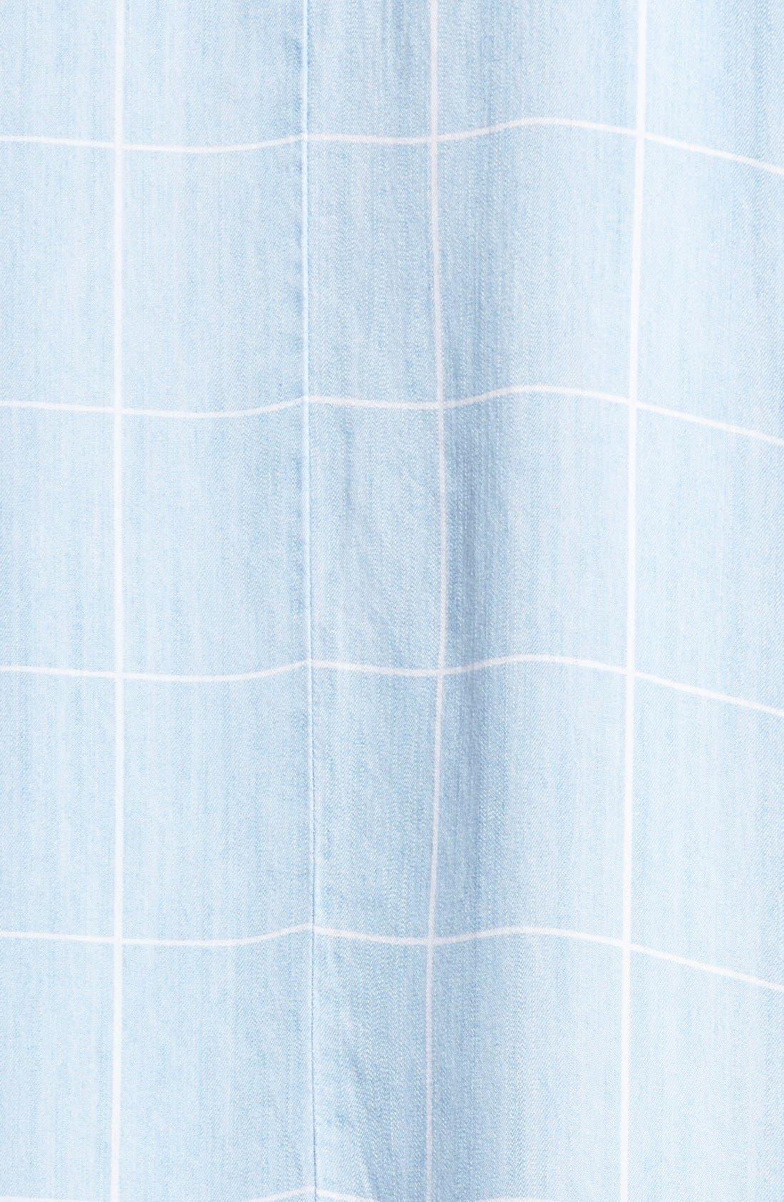 Alternate Image 5  - Rails 'Anya' Check Chambray Shift Dress