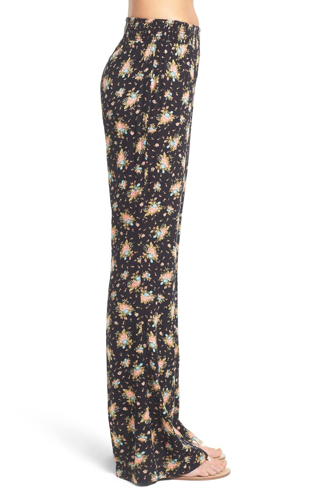 Alternate Image 3  - Volcom 'Rough Edges' Floral Print Pants