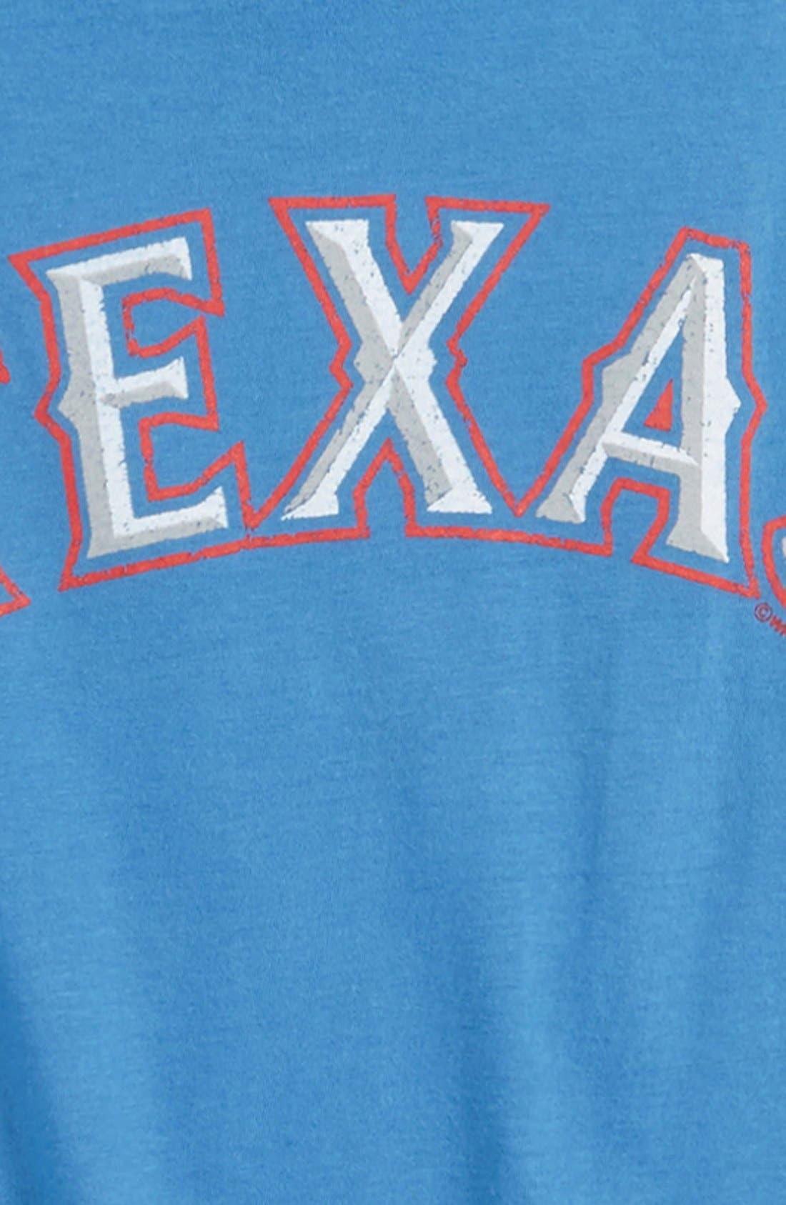 Alternate Image 2  - Wright & Ditson 'Texas Rangers' T-Shirt (Little Boys & Big Boys)