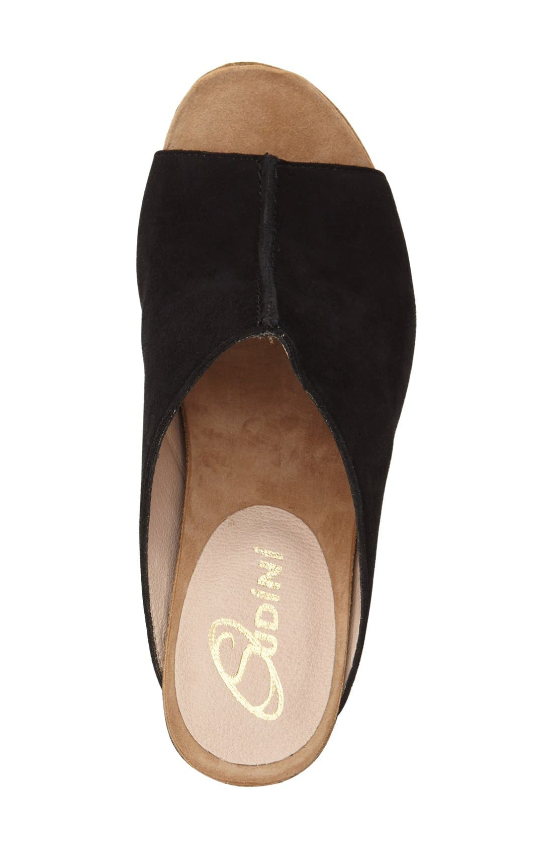 Alternate Image 3  - Sudini 'Bailey' Suede Wedge (Women)