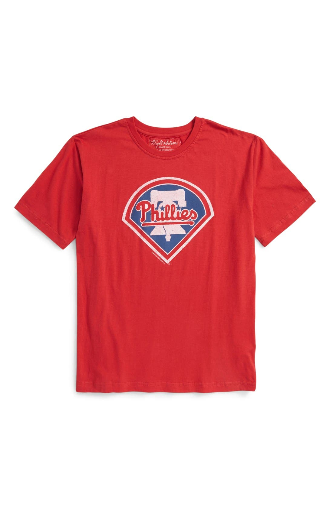 Wright & Ditson 'Philadelphia Phillies' T-Shirt (Little Boys & Big Boys)