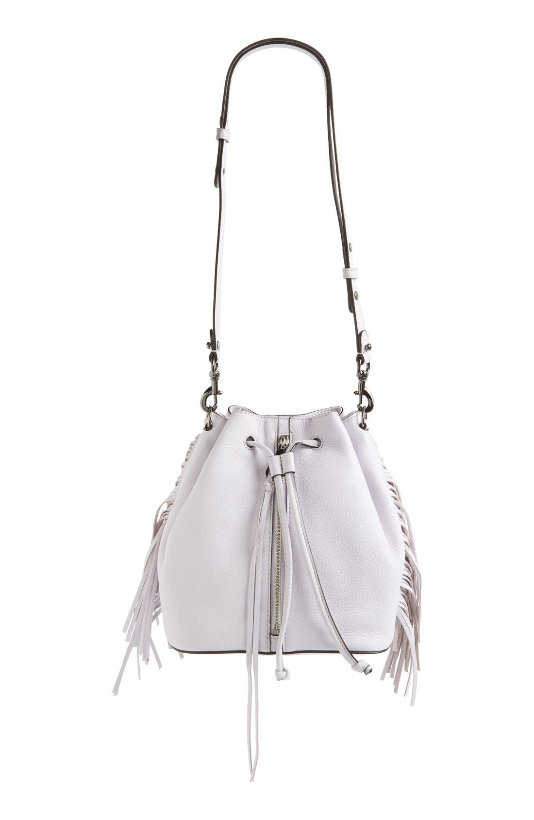 Alternate Image 2  - Rebecca Minkoff 'Mini Fringe Moto' Bucket Bag (Nordstrom Exclusive)