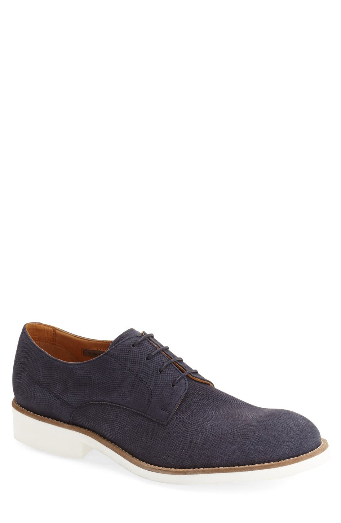 Alternate Image 1 Selected - Vince Camuto 'Apexx' Nubuck Derby (Men)