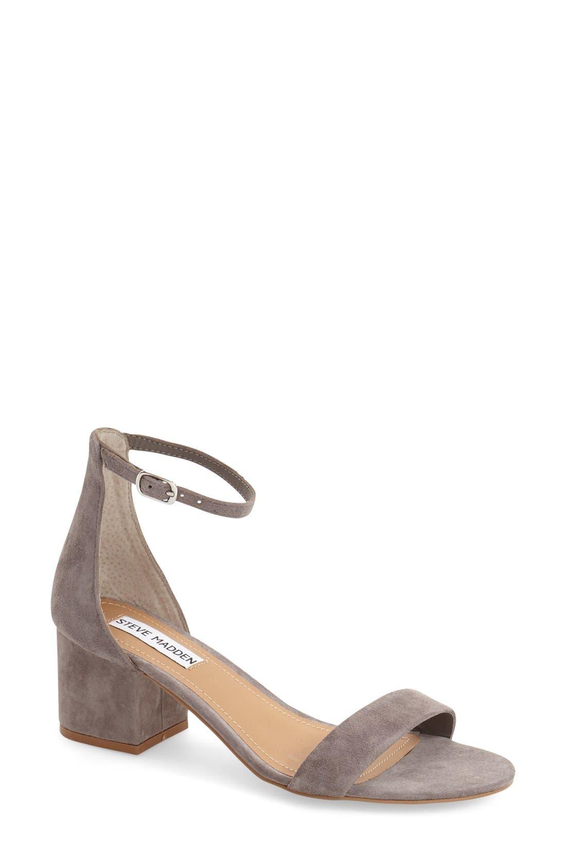Alternate Image 1 Selected - Steve Madden Irenee Ankle Strap Sandal (Women)
