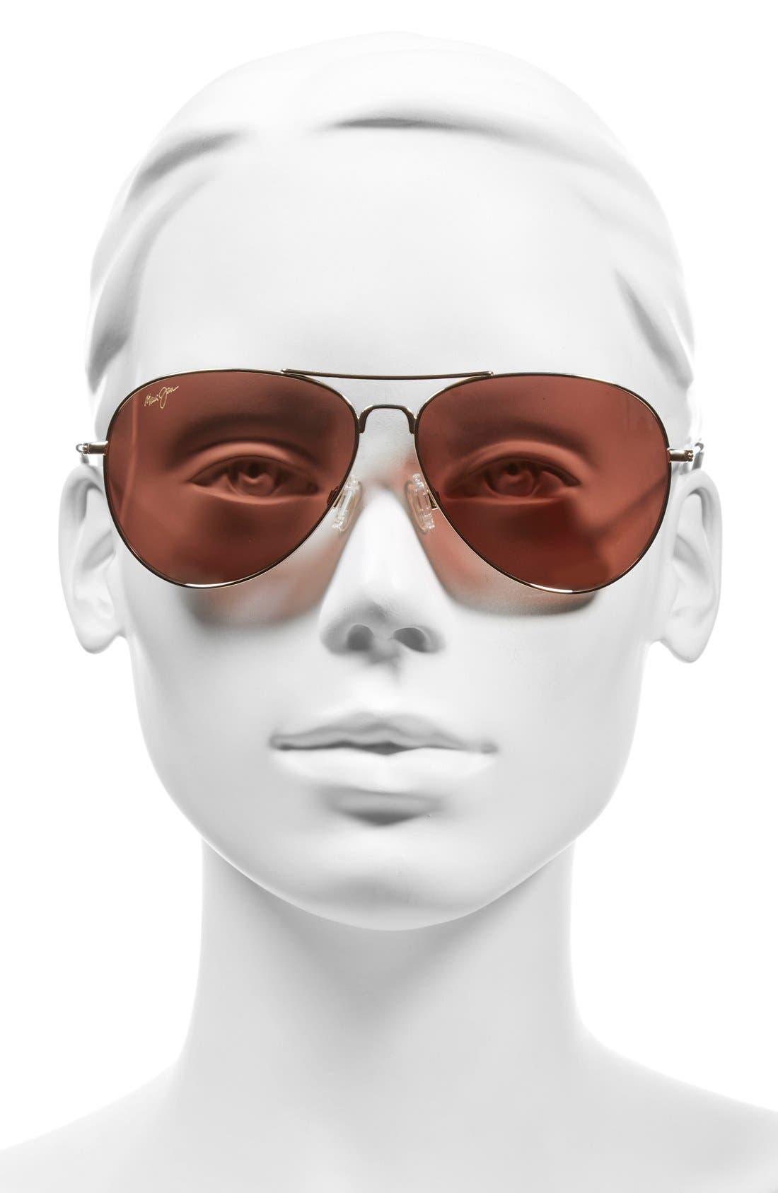 Alternate Image 2  - Maui Jim Mavericks 61mm PolarizedPlus2® Aviator Sunglasses