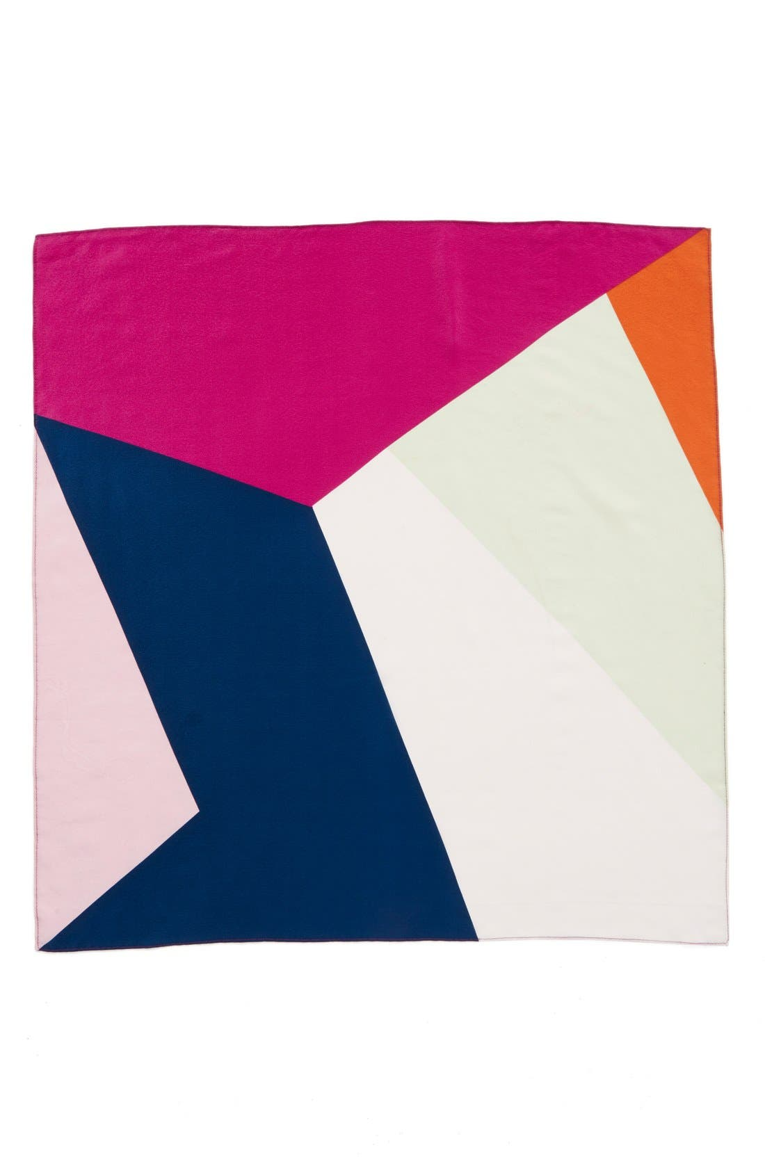 Alternate Image 2  - Halogen® Abstract Colorblock Silk Scarf