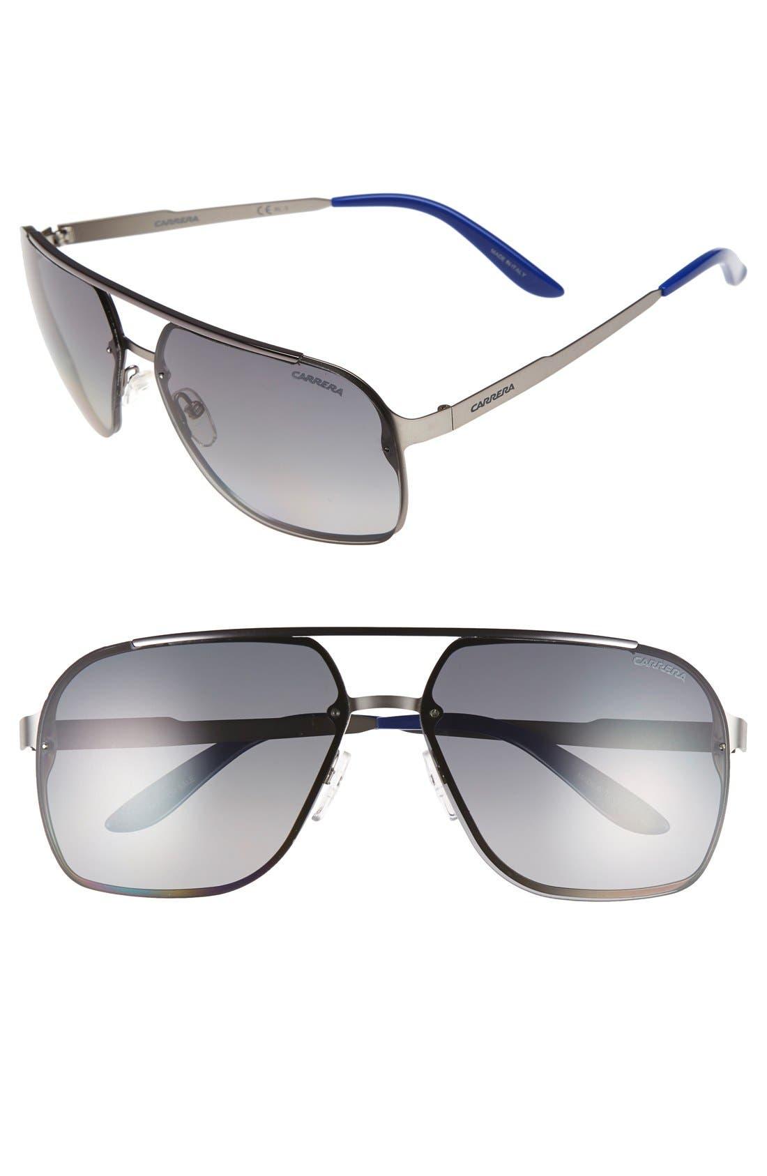 Carrera Eyewear '91/S' 64mm Polarized Sunglasses