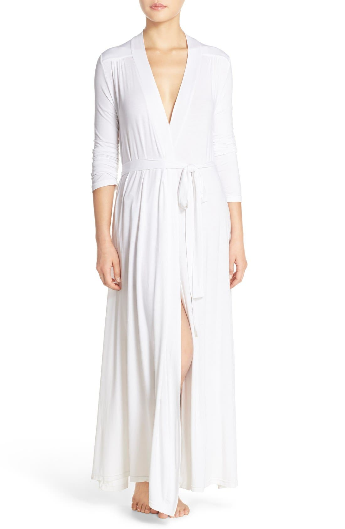 Barefoot Dreams® Luxe Long Jersey Robe