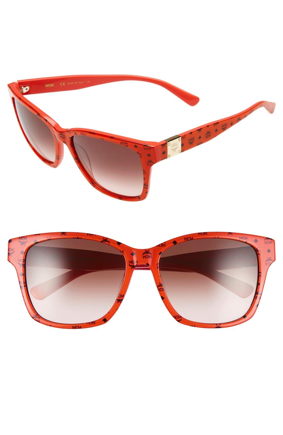 MCM Visetos 59mm Retro Sunglasses