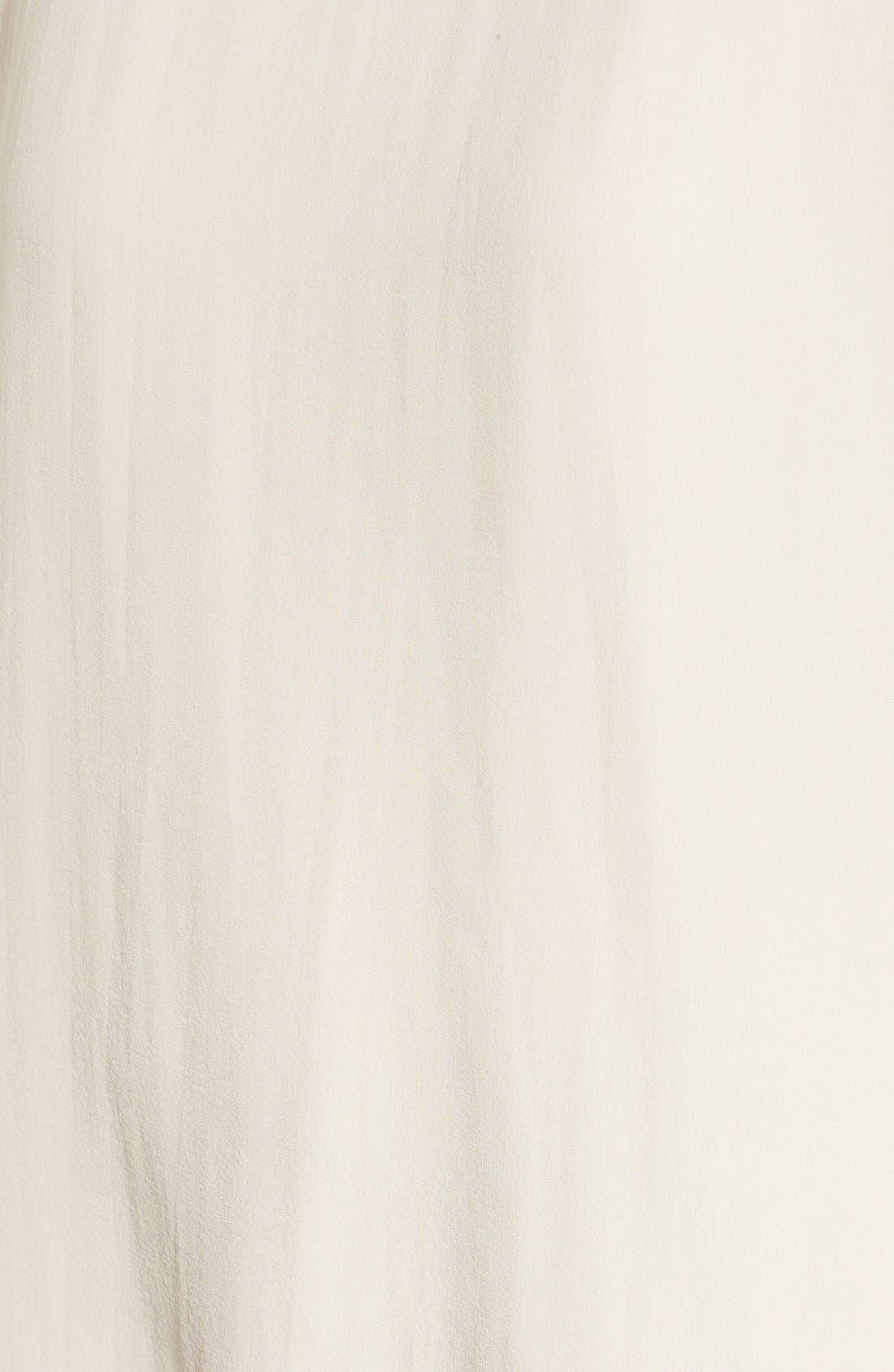 Alternate Image 5  - Eileen Fisher Sheer Silk Georgette Top (Regular & Petite)