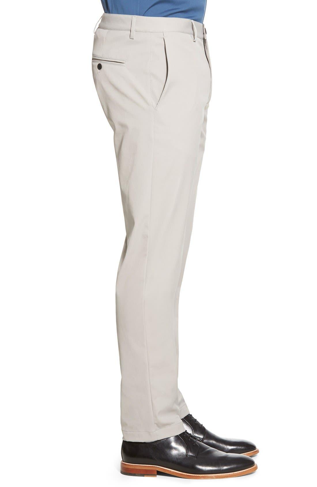 'Zaine Neoteric' Slim Fit Pants,                             Alternate thumbnail 3, color,                             Winter Sky