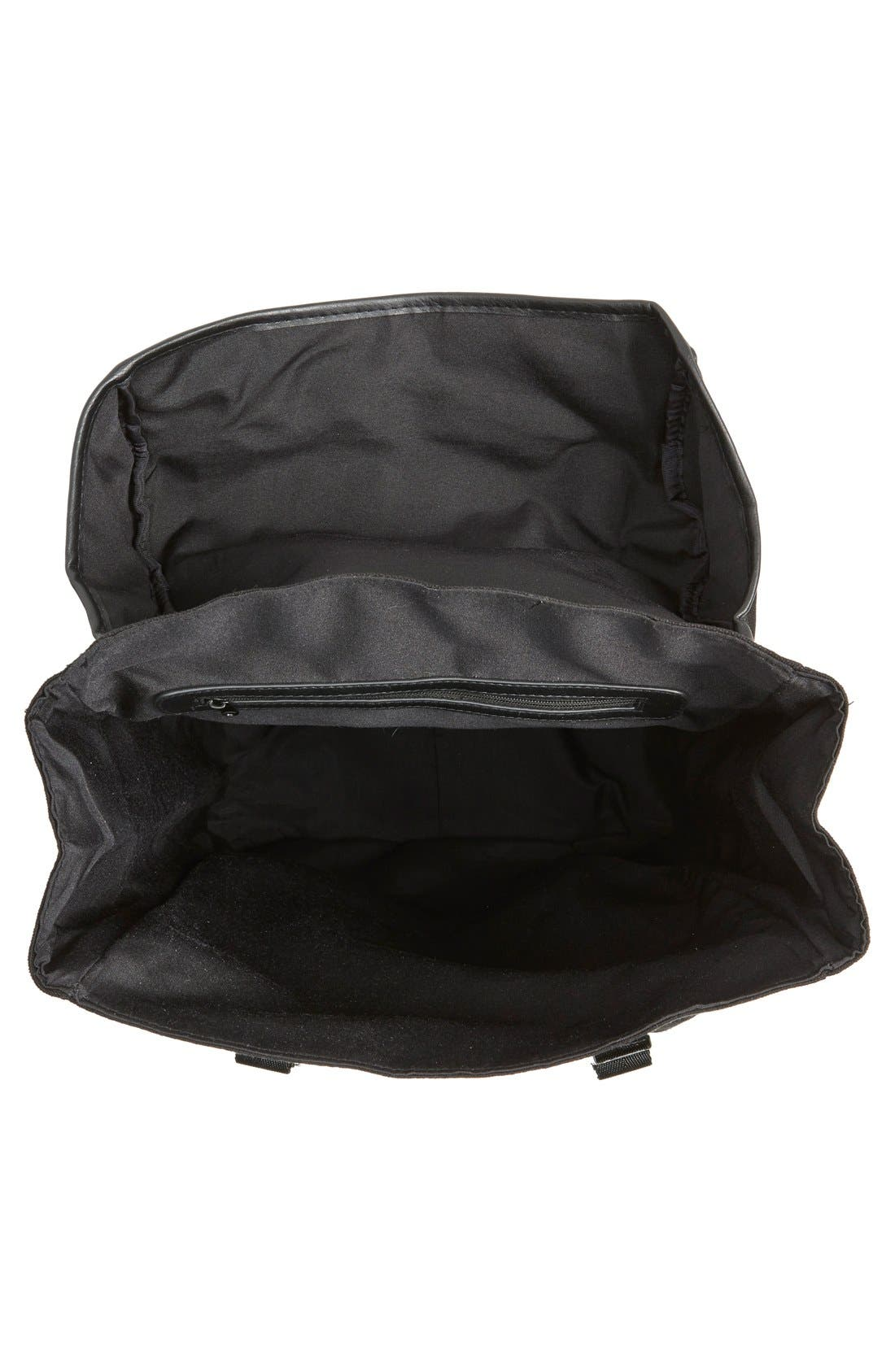 Alternate Image 4  - Topman Canvas Backpack