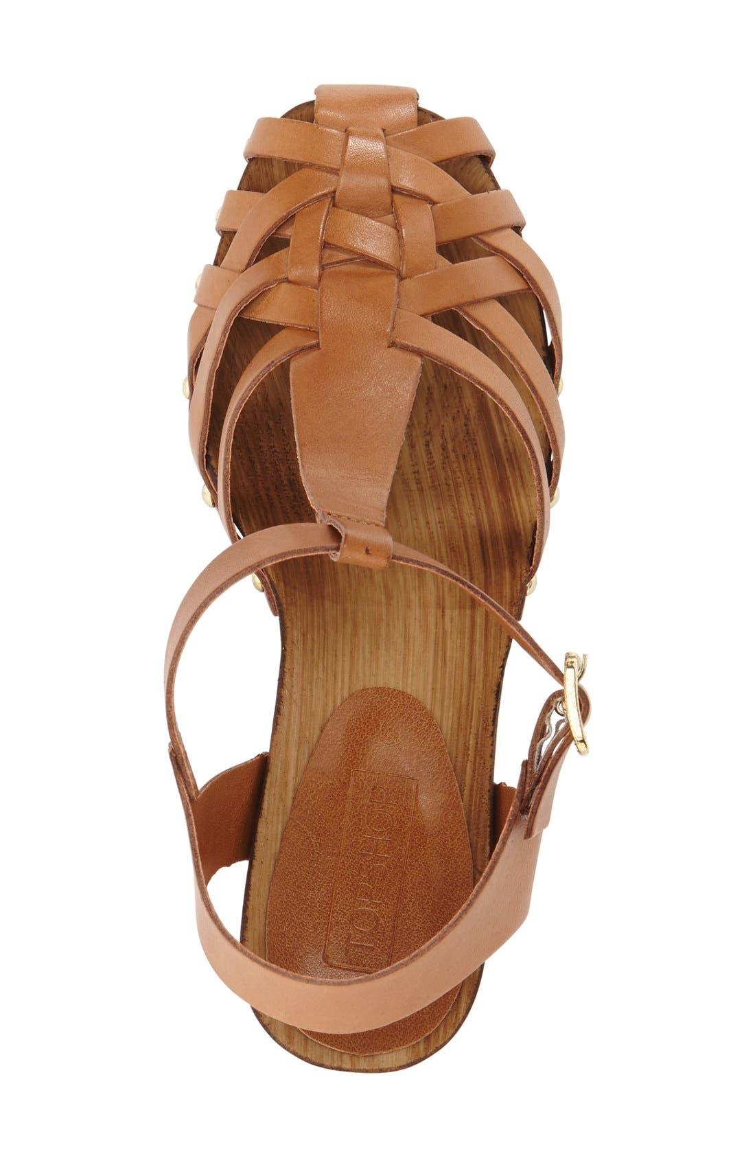 Alternate Image 3  - Topshop 'Venice' Platform Sandal (Women)