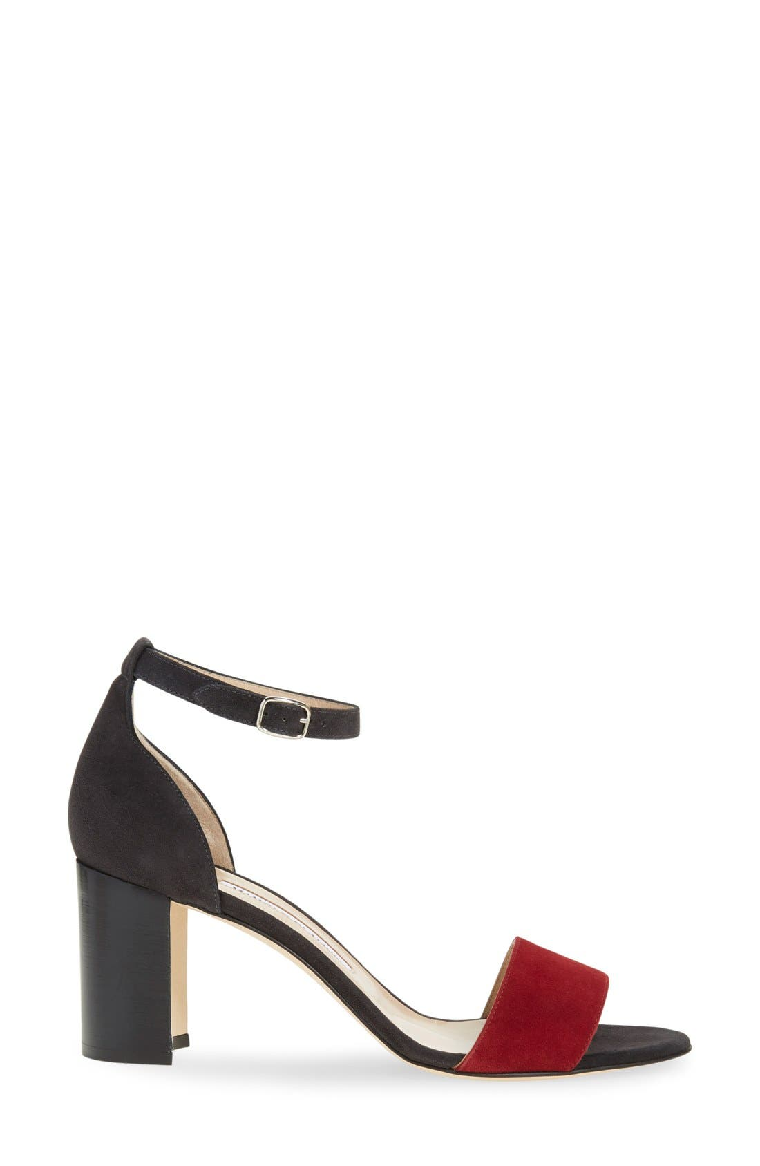 Alternate Image 4  - Manolo Blahnik 'Lauratomod' Ankle Strap Sandal (Women)