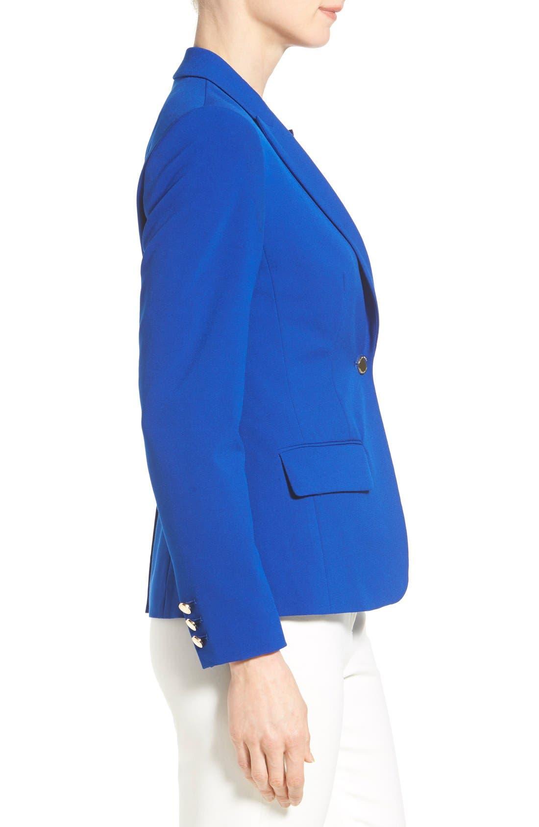 Alternate Image 3  - Ivanka Trump One-Button Jacket