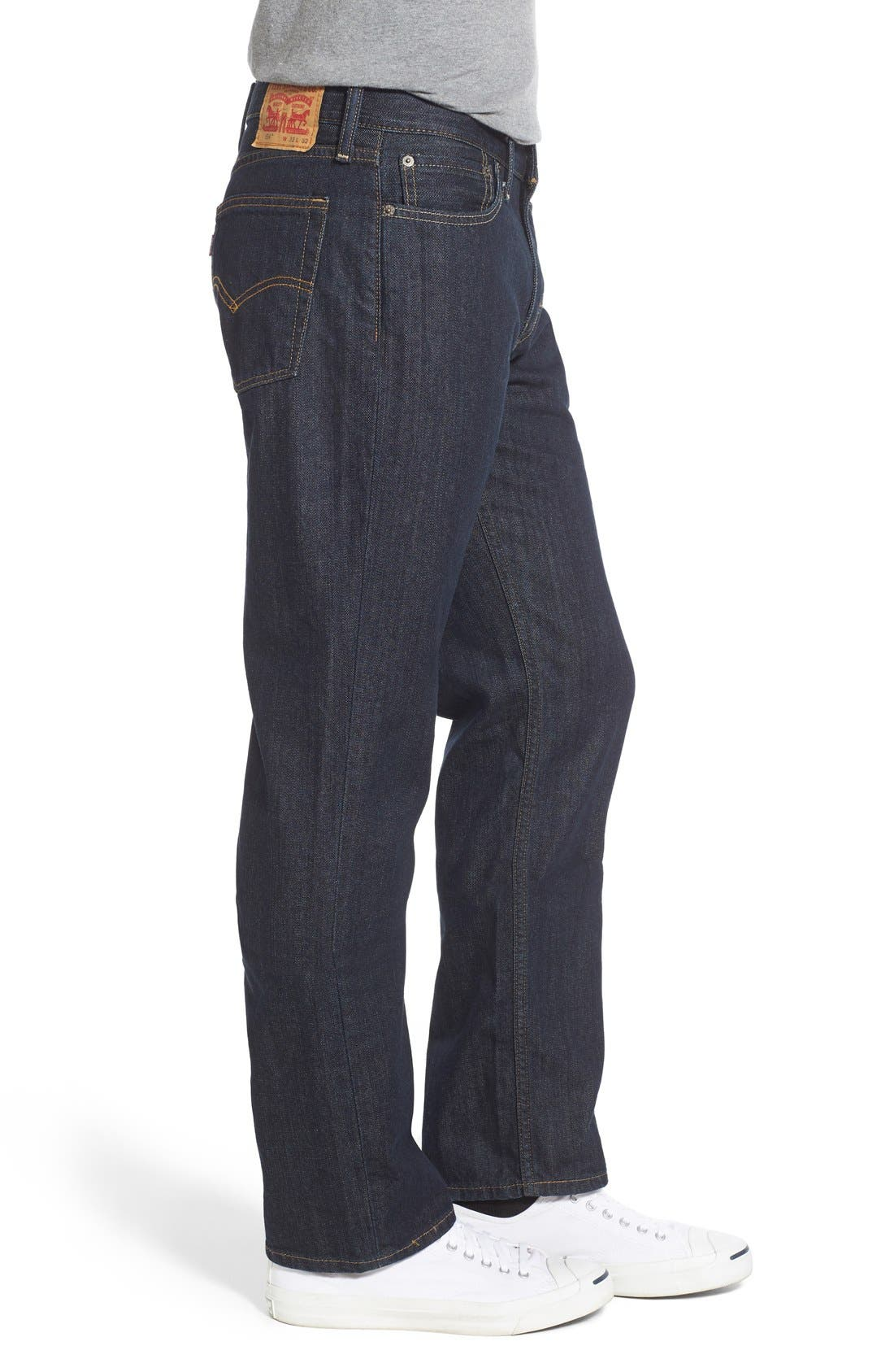 514<sup>™</sup> Straight Leg Jeans,                             Alternate thumbnail 3, color,                             Tumbled Rigid