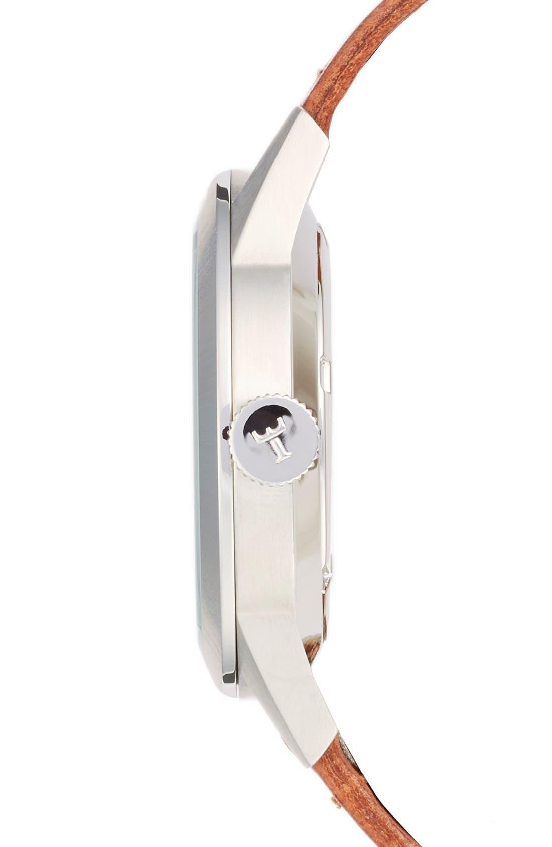 Alternate Image 3  - TRIWA Spira Leather Strap Watch, 38mm
