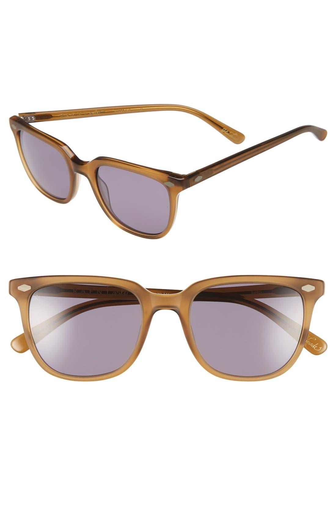 'Arlo' 53mm Sunglasses,                             Main thumbnail 1, color,                             Kelp