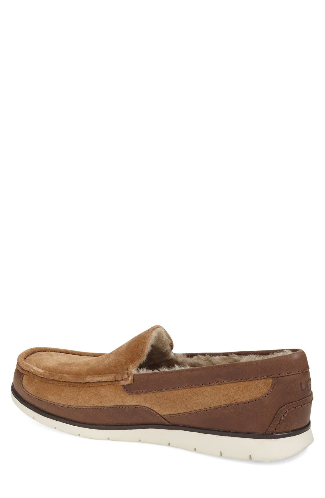 Fascot Indoor/Outdoor Slipper,                             Alternate thumbnail 3, color,                             Chestnut