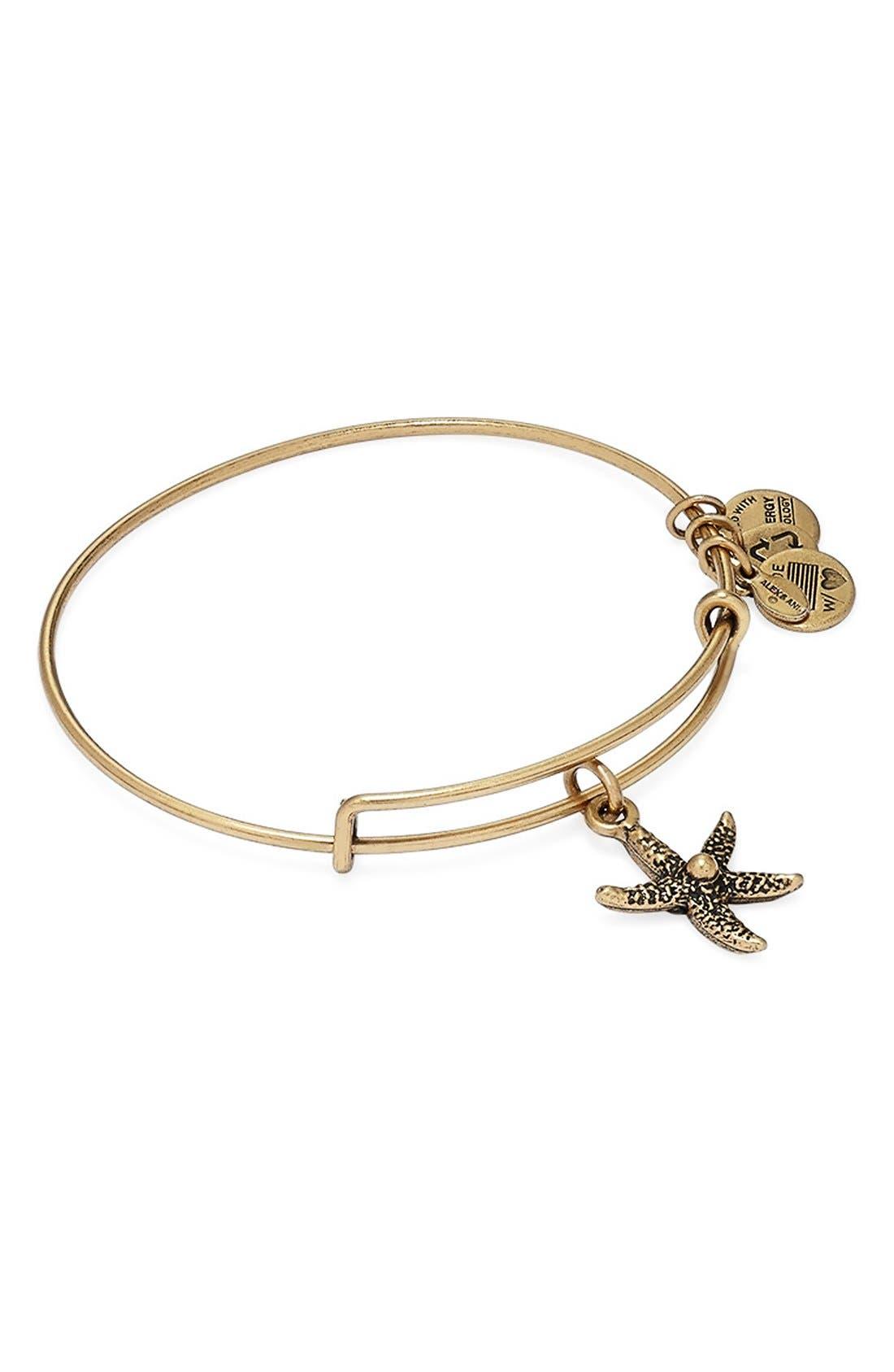 Alternate Image 4  - Alex and Ani 'Starfish' Bangle Bracelet