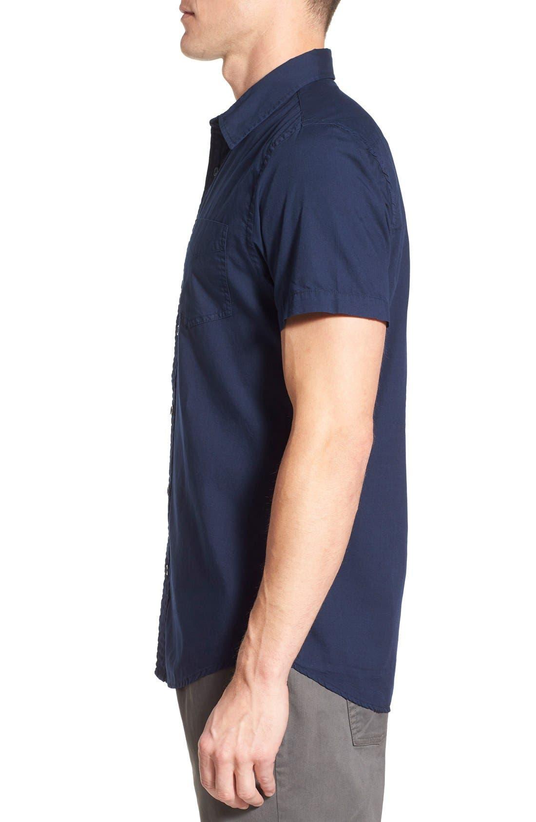Alternate Image 3  - Original Paperbacks 'Torino' Short Sleeve Woven Shirt