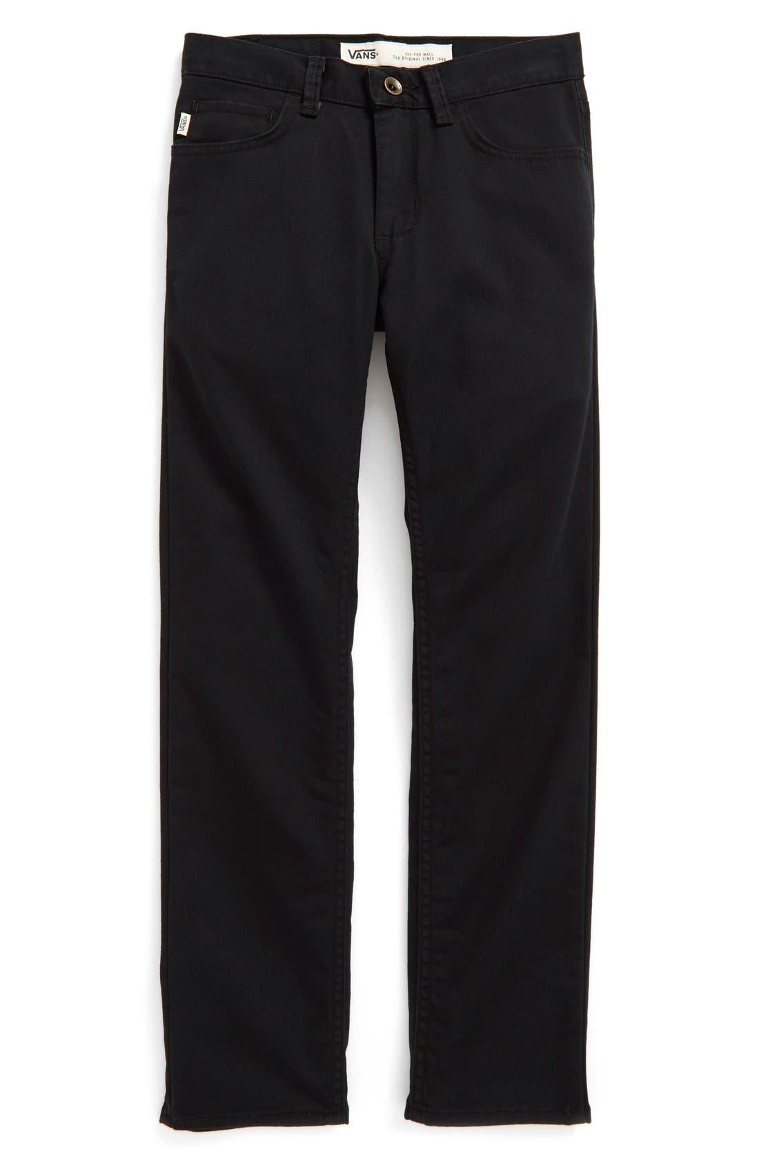 'V56 Standard AV Covina' Pants,                             Main thumbnail 1, color,                             Black